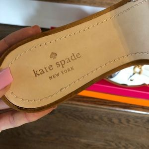 kate spade Shoes - Authentic Kate Spade Leather Sandals, 10